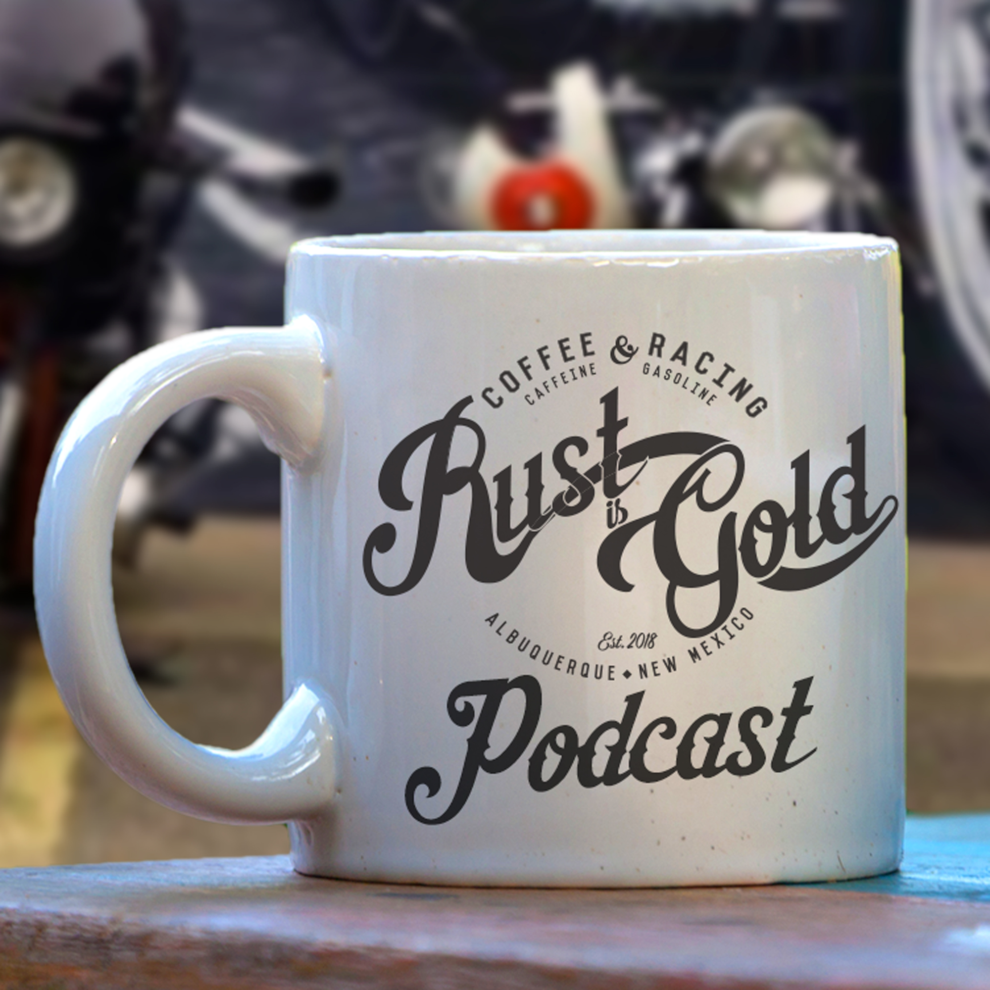Rust is Gold Racing Podcast